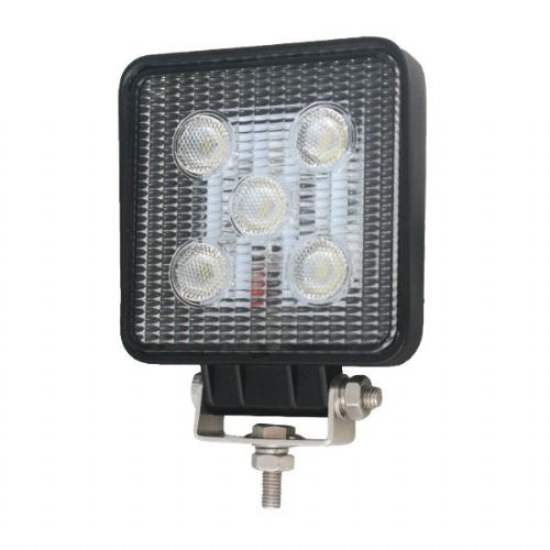 Single Bolt LED Work Lamp With Lead Connector - 10-30V 1050LM-SS/80012
